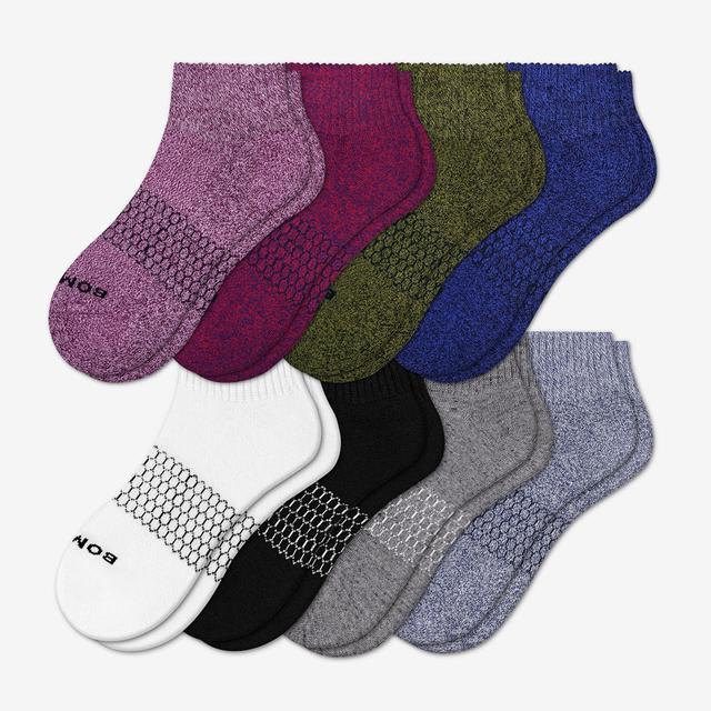 multi Women's Quarter Sock 8-Pack