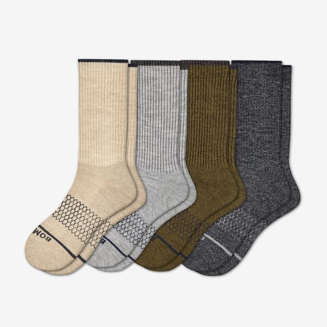 neutrals Women's Merino Wool Calf Sock 4-Pack
