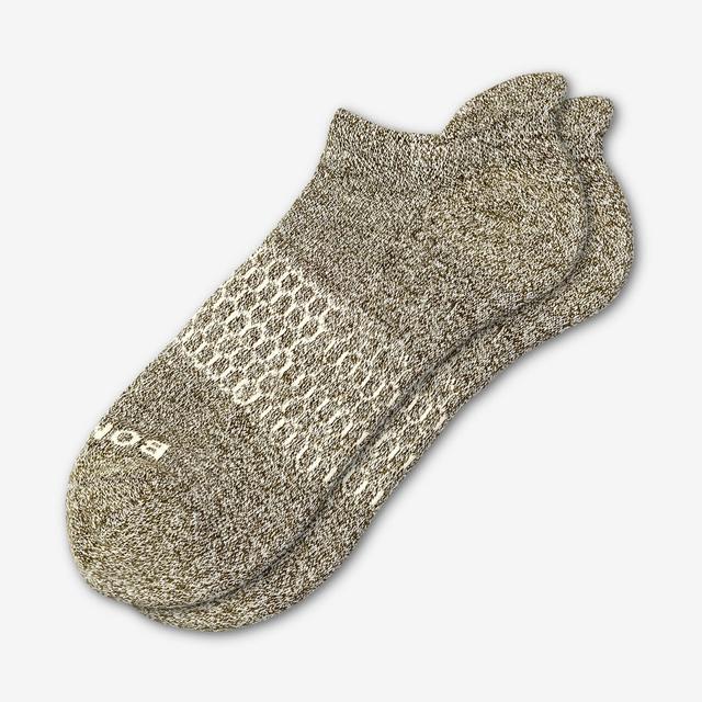 olive-cream Women's Classic Marls Ankle Socks