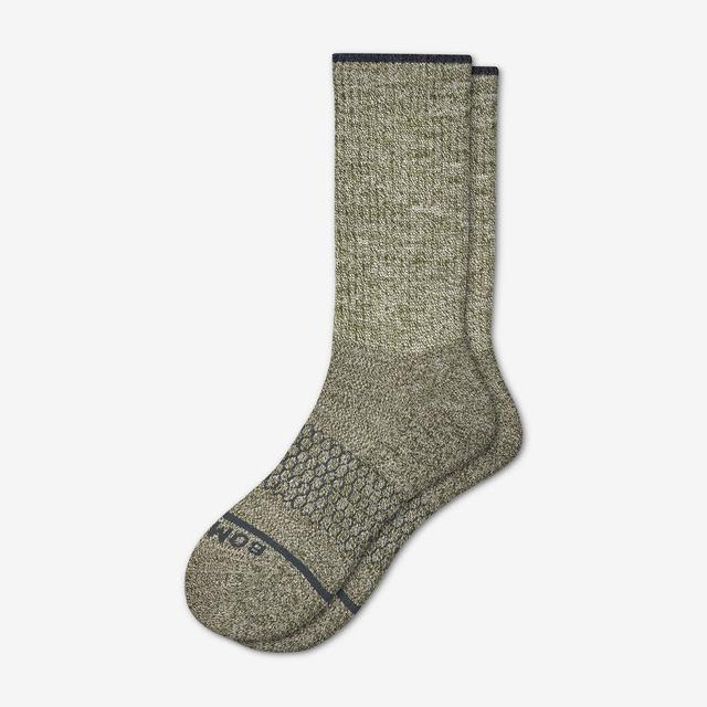olive Men's Merino Wool Socks