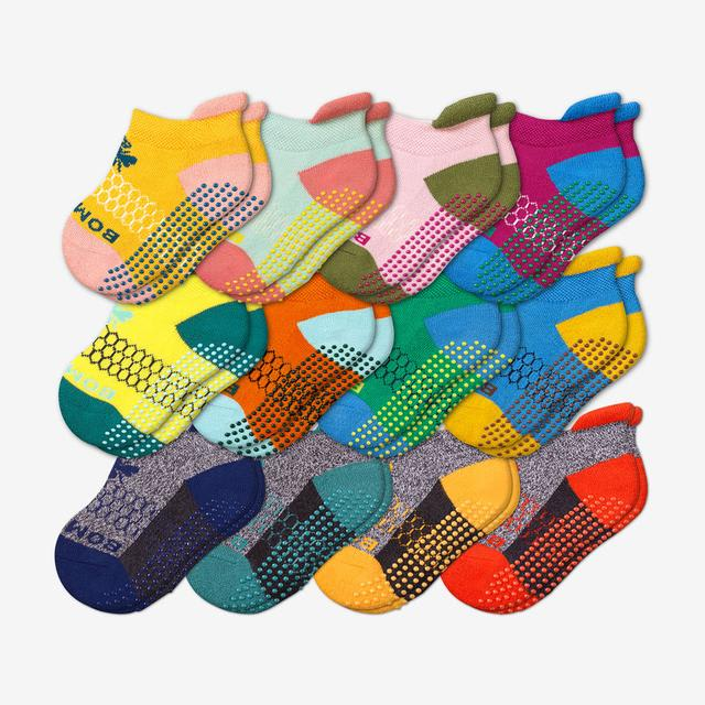 originals-mix Toddler Gripper Ankle Sock 12-Pack