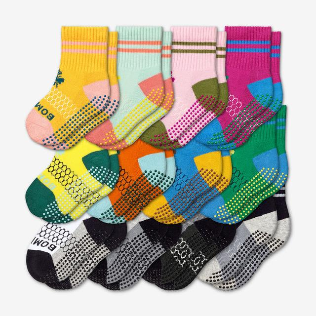 originals-mix Toddler Gripper Calf Sock 12-Pack