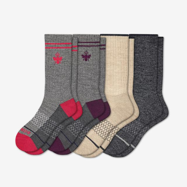 originals-mix Women's Merino Wool Calf Sock 4-Pack