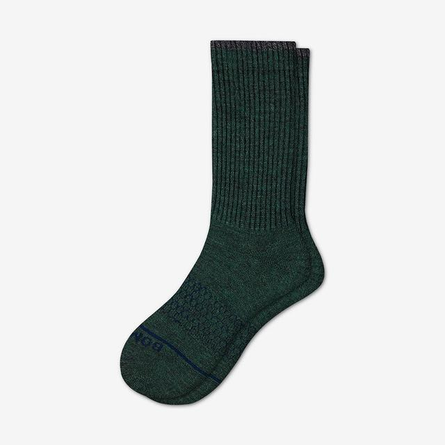 pine Men's Merino Wool Calf Socks