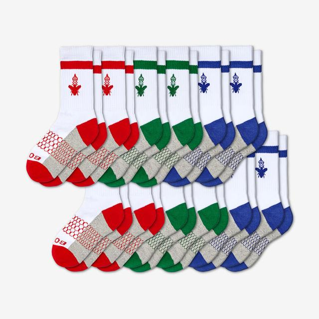 red-green-blue Youth Calf 12-Pack