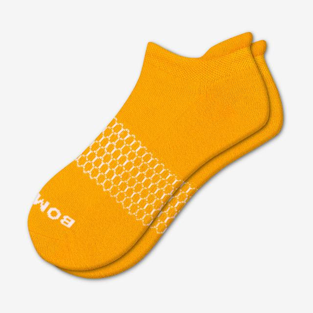 saffron Women's Solids Ankle Socks
