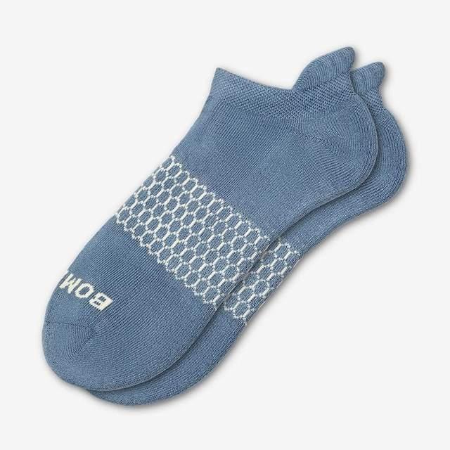 slate-blue Men's Solids Ankle