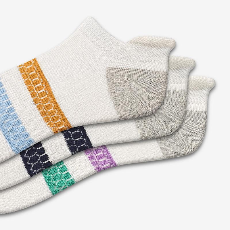 Women's Vintage Stripe Ankle Sock 3-Pack