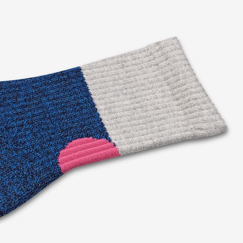 Youth Sesame Street Grover Colorblock Socks