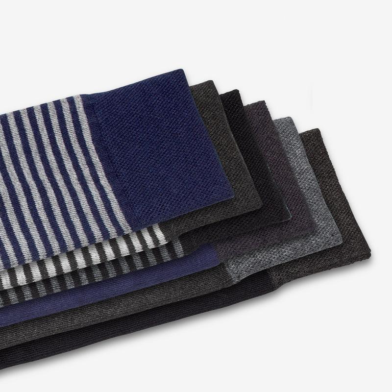 Men's Dress Socks 6-Pack