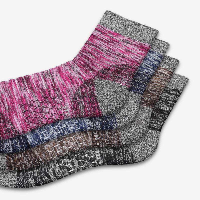 Women's Hiking Quarter Sock 4-Pack