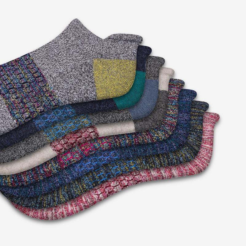 Women's Space Dye Ankle Sock 8-Pack