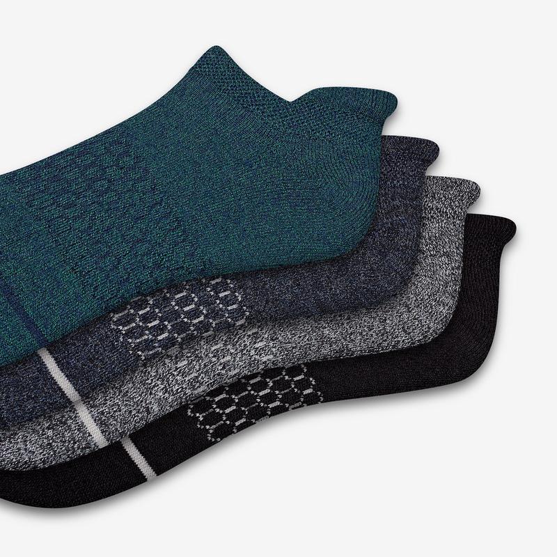 Men's Merino Wool Ankle Sock 4-Pack
