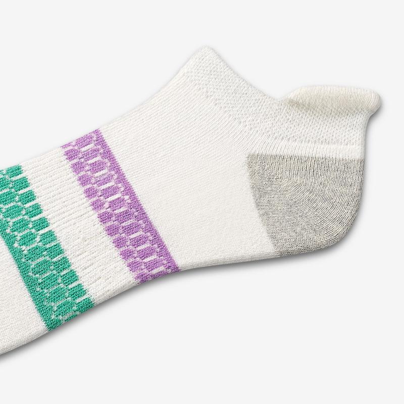 Women's Vintage Stripe Ankle Socks