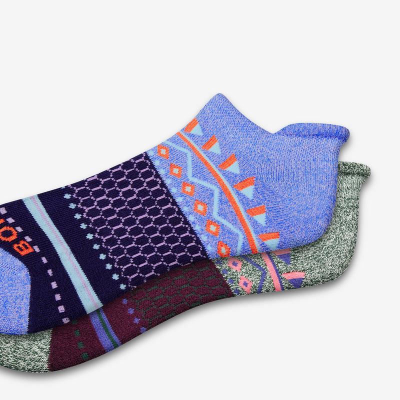 Women's Fair Isle Ankle Socks