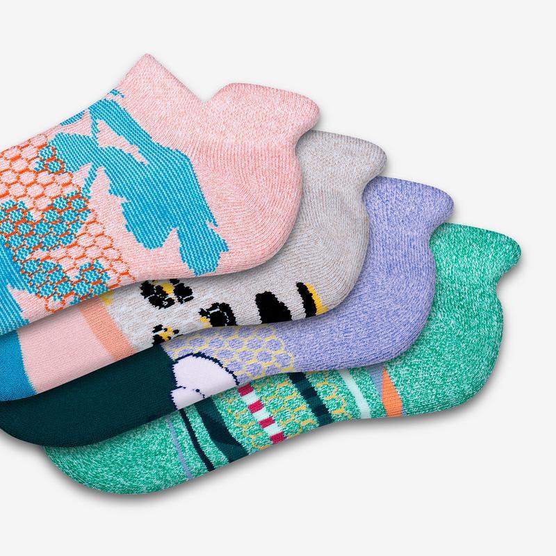 Women's Spring Fling Ankle Sock 4-Pack