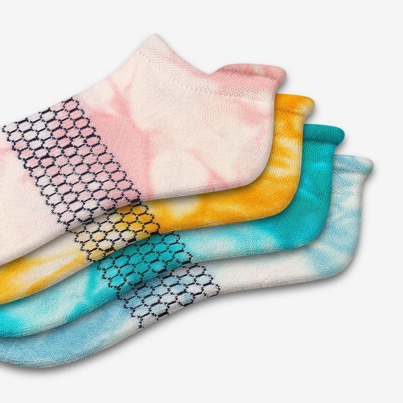 Women's Tie Dye Ankle Sock 4-Pack