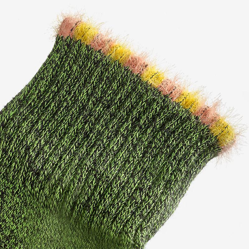 Sesame Street Fuzzy Oscar the Grouch Socks