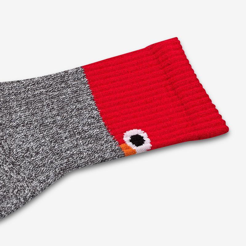 Youth Sesame Street Elmo Colorblock Socks