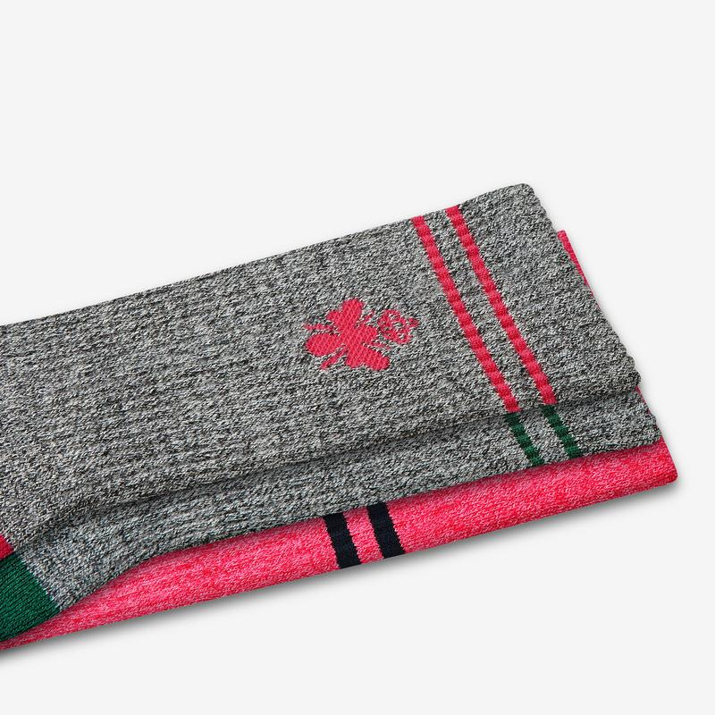 Women's Compression & Merino Calf Sock 4-Pack