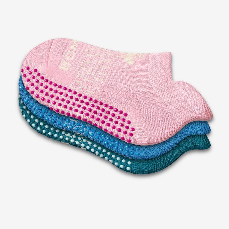 Toddler Gripper Ankle Sock 8-Pack