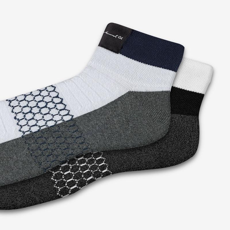 Men's Muhammad Ali x Bombas Championship Quarter Socks