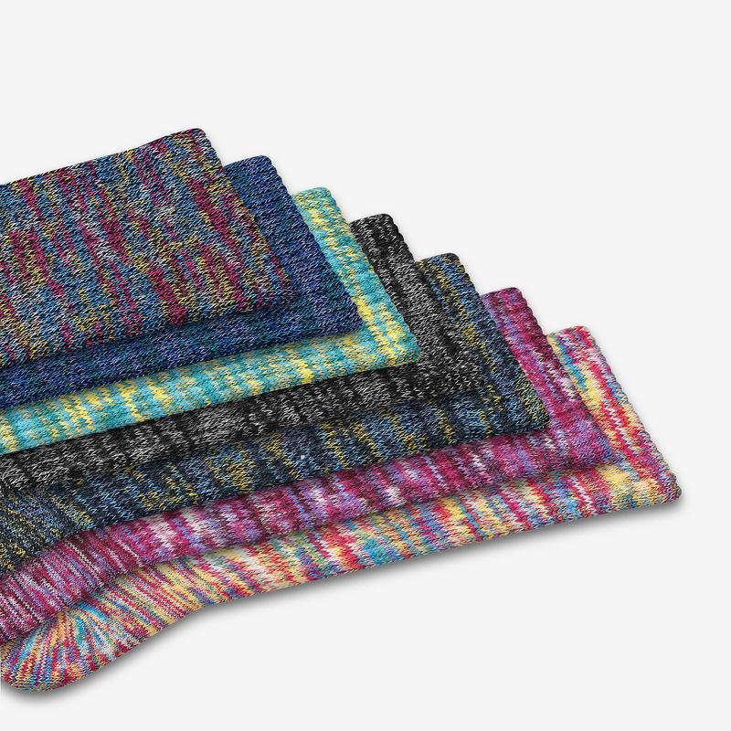 Youth Space Dye Calf Sock 4-Pack