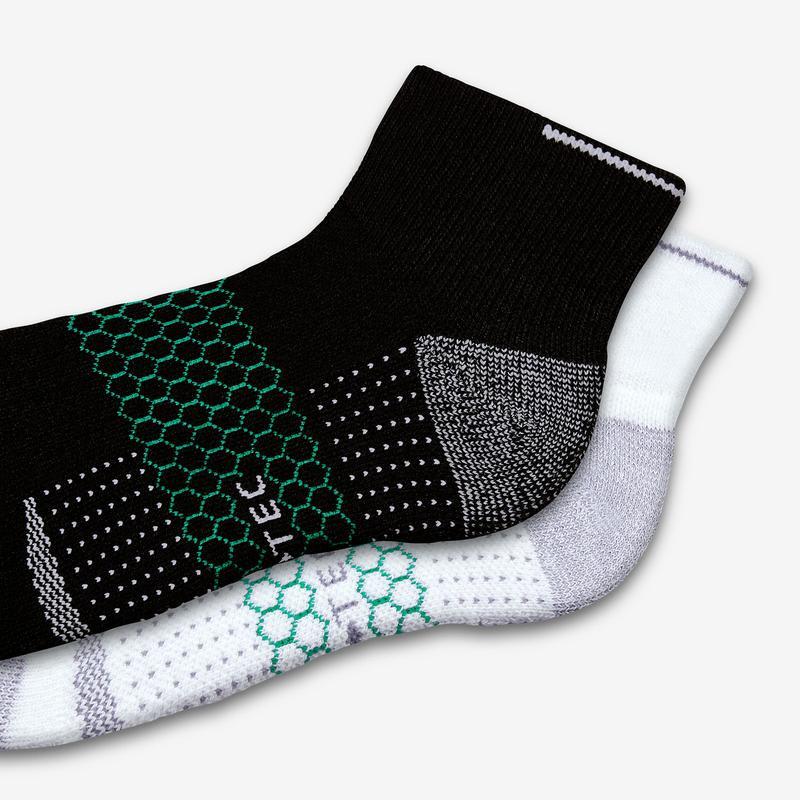 Men's Performance Golf Quarter Socks