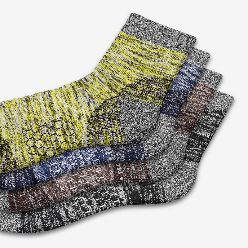 Men's Hiking Quarter Sock 4-Pack