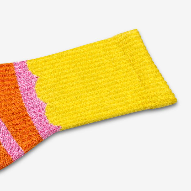Youth Sesame Street Big Bird Colorblock Socks