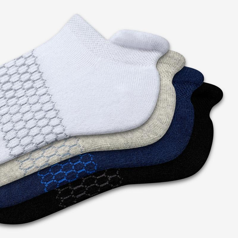 Youth Solids Ankle Sock 4-Pack