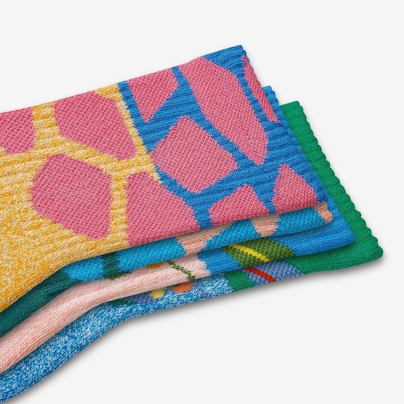 Youth Wild Wear Calf Sock 4-Pack
