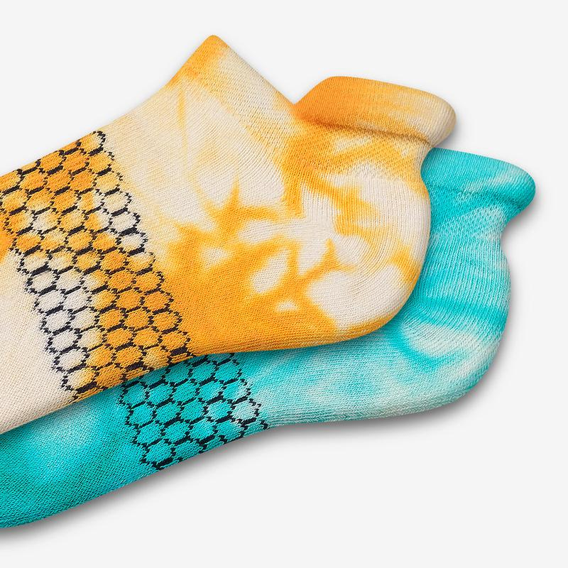Youth Tie Dye Ankle Sock 4-Pack