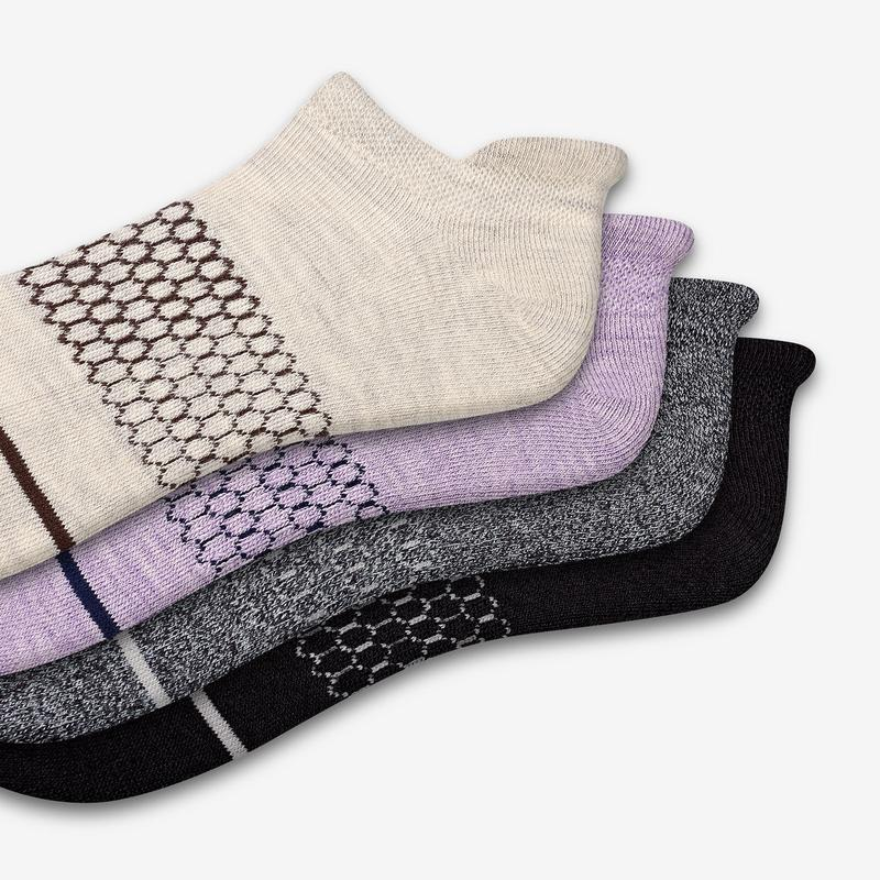 Women's Merino Wool Ankle Sock 4-Pack