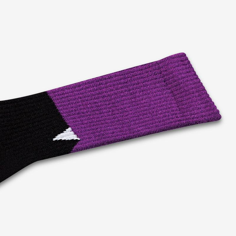 Women's Sesame Street Count von Count Colorblock Socks