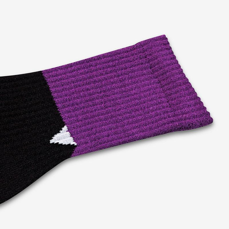 Youth Sesame Street Count von Count Colorblock Socks