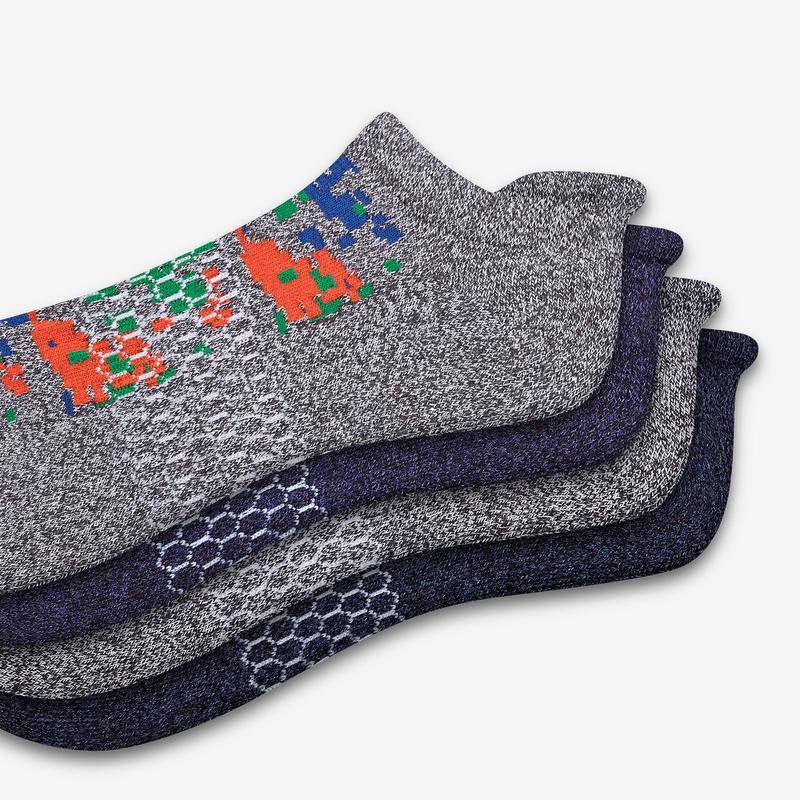 Men's Camo Ankle Sock 4-Pack