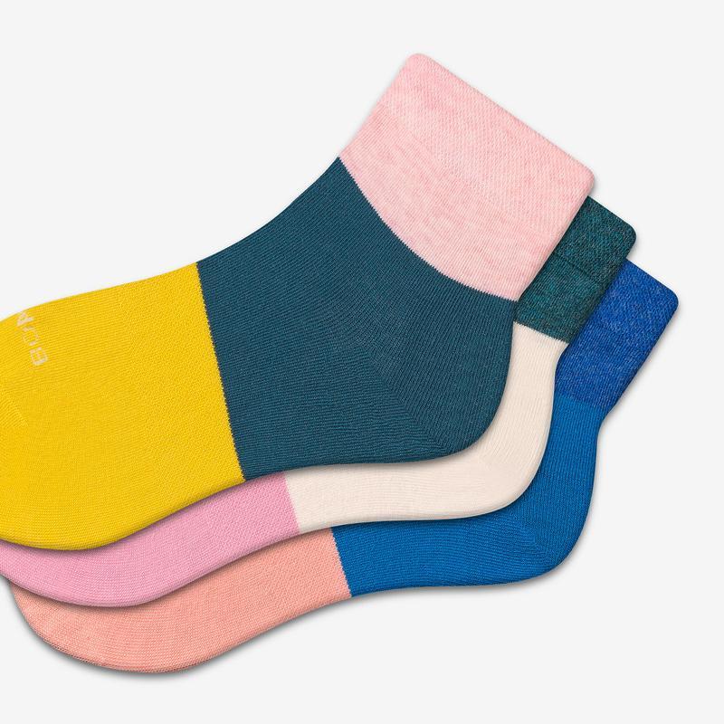 Women's Lightweight Quarter Sock 3-Pack