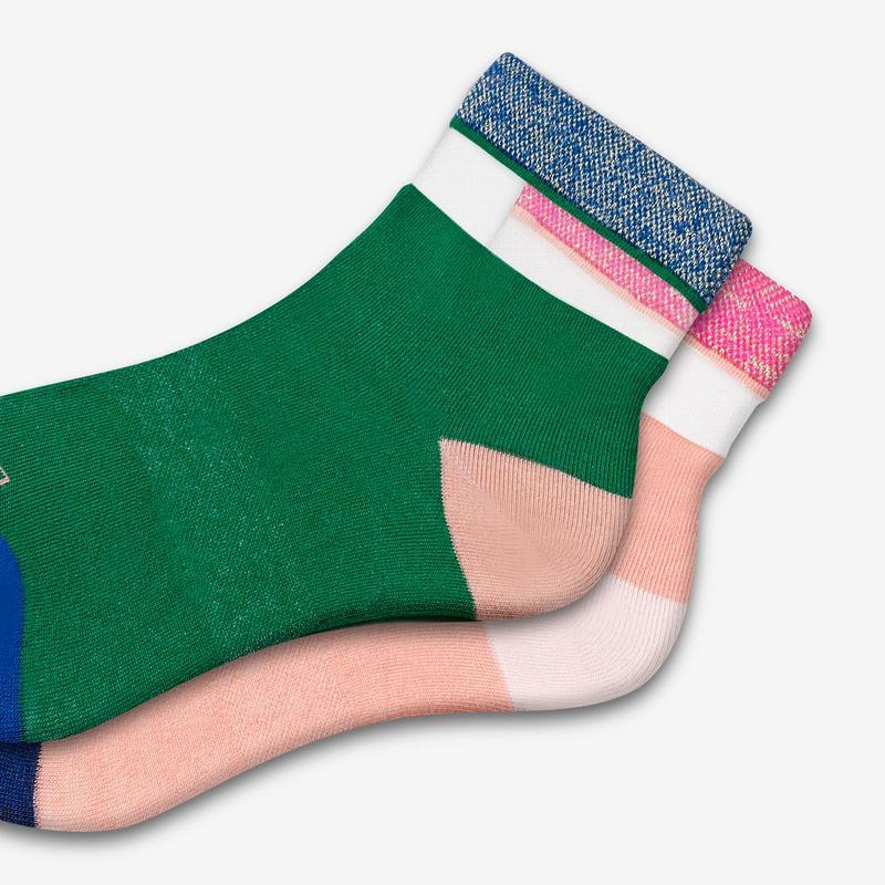 Women's Lightweight Breezys Quarter Sock