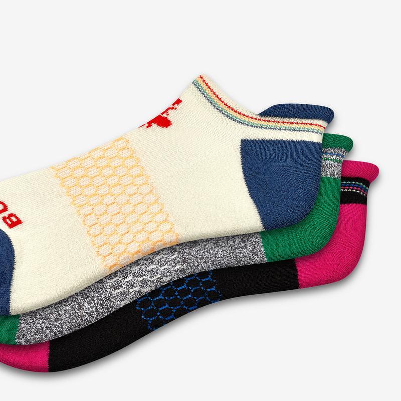 Women's Stripe Tops Ankle Sock 3-Pack