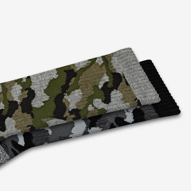 Men's Camo Calf Sock 3-Pack