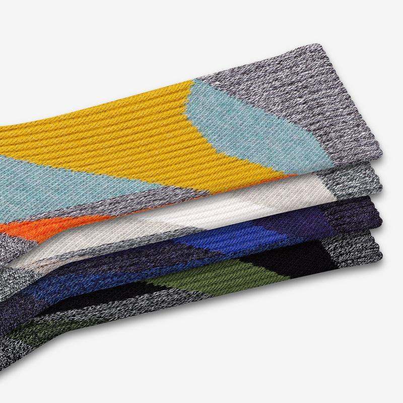 Men's Geo Calf Sock 4-Pack