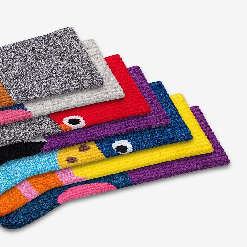 Men's Sesame Street 50th Anniversary 7-Pack Gift Box
