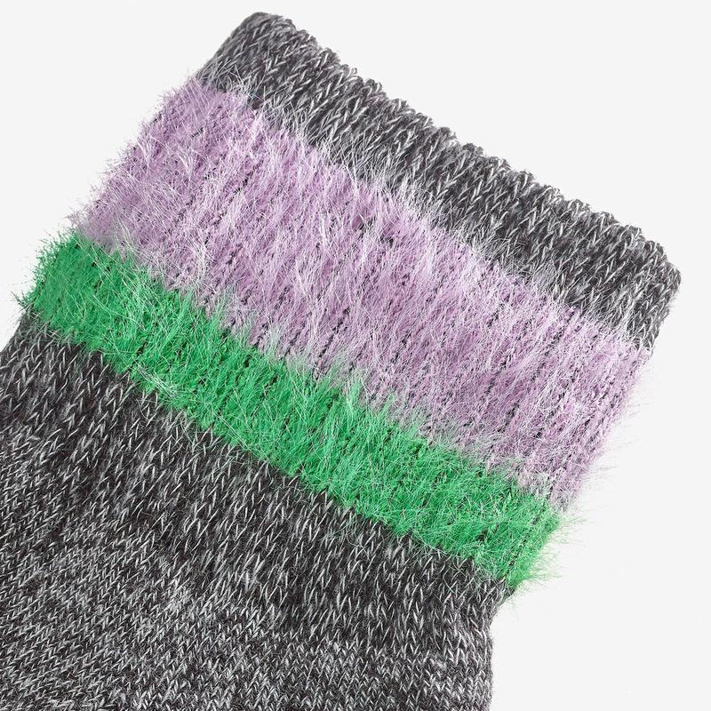 Youth Sesame Street Fuzzy Count von Count Socks