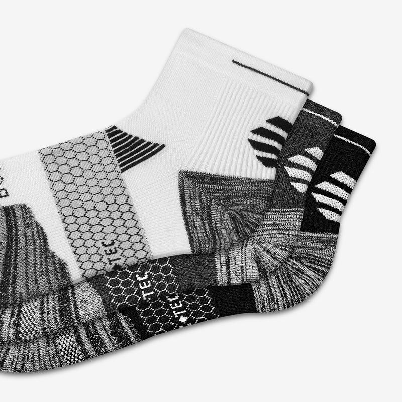 Men's Performance Running Quarter Sock 12-Pack
