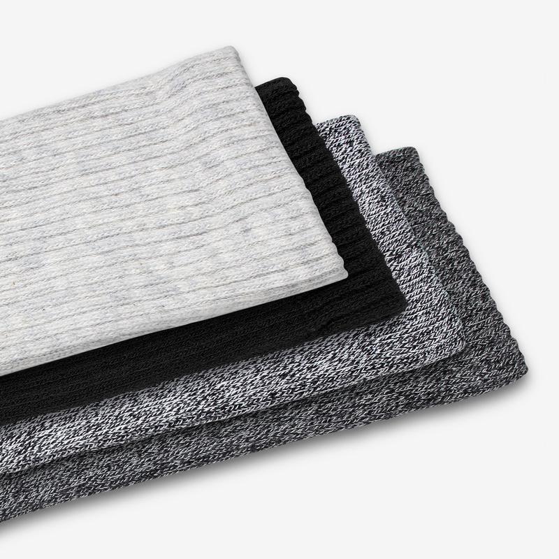 Men's Dark Solids & Marls Calf Sock 4-Pack