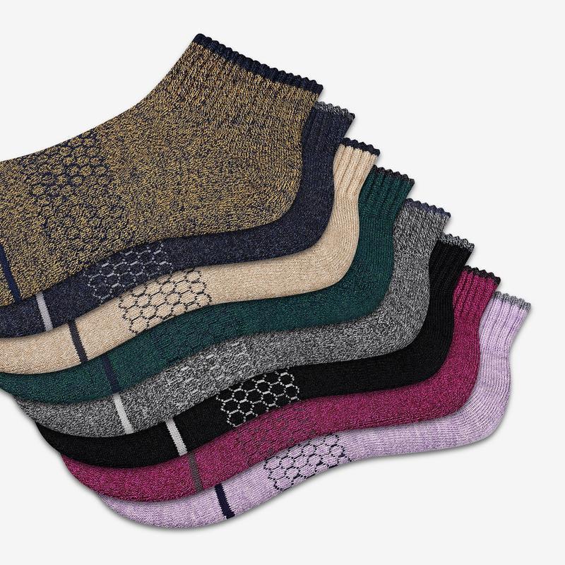 Women's Merino Wool Quarter Sock 4-Pack