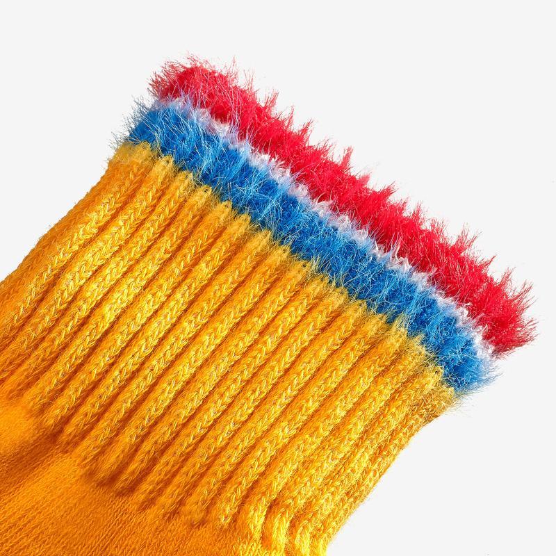 Youth Sesame Street Fuzzy Ernie Socks