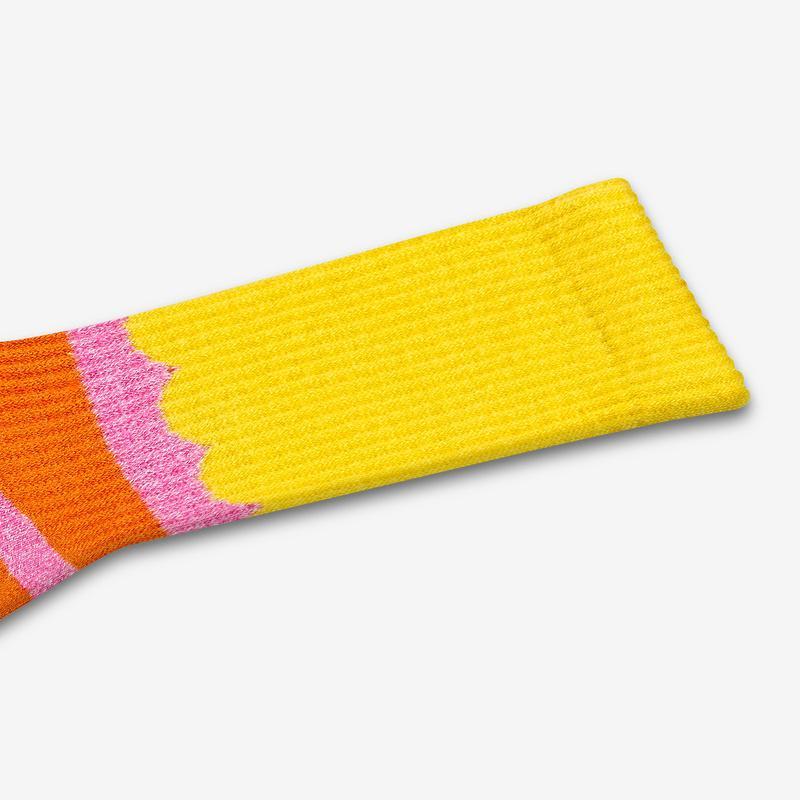 Women's Sesame Street Big Bird Colorblock Socks