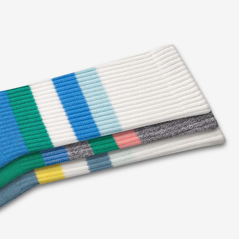 Men's Bold Vintage Stripe Calf Sock 3-Pack